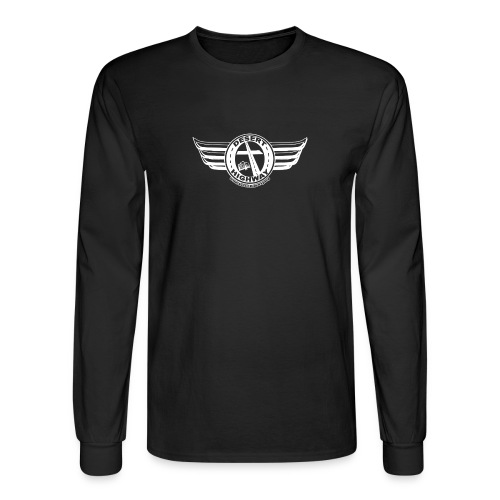 white Desert Highway Logo - Men's Long Sleeve T-Shirt