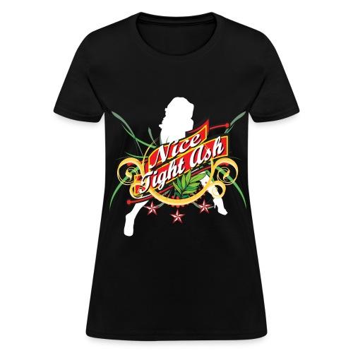 Woman's Nice Tight Ash Shirt - Women's T-Shirt
