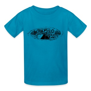 Jesus Loves Bikers Too - Kids' T-Shirt