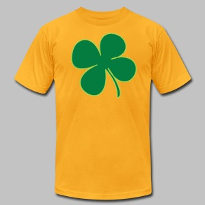 Four Leaf Clover - Men's T-Shirt by American Apparel