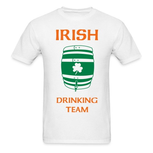 Irish Drinking Team T - Men's T-Shirt