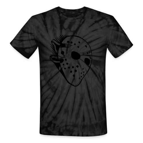 Murder mask - Unisex Tie Dye T-Shirt