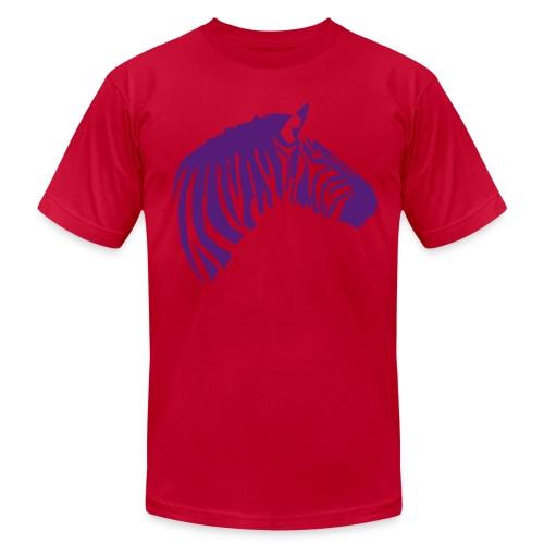 Brah - Lime/Purple - Men's Fine Jersey T-Shirt