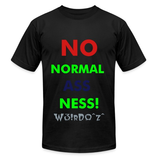 normal ass-ness T - Men's  Jersey T-Shirt