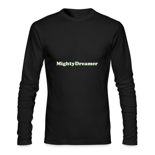 The MightyGlow Fitted - Men's Long Sleeve T-Shirt by Next Level