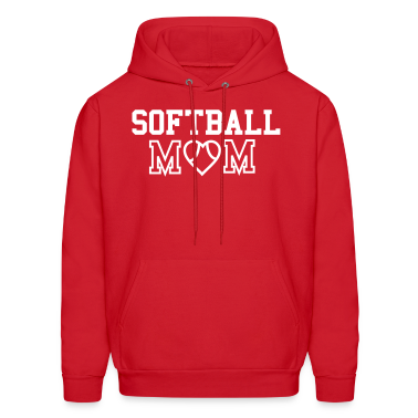Softball Mom Hooded Sweatshirt