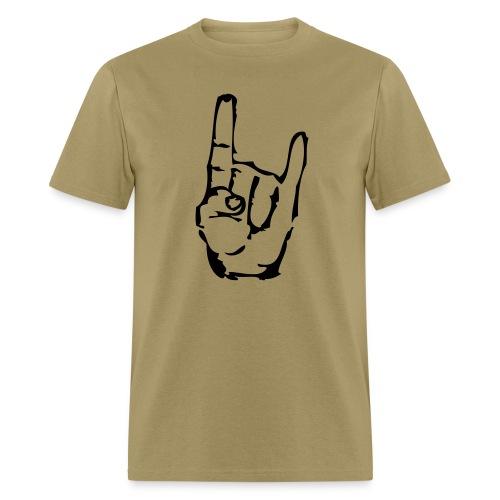 MacGyvers Khaki Metal - Men's T-Shirt