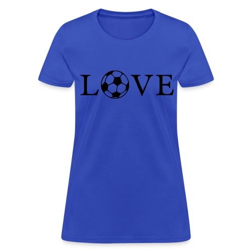 I Love Soccer - Women's T-Shirt