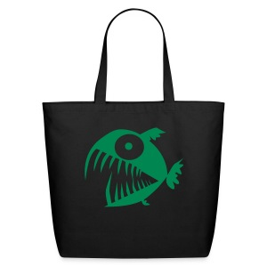 piranhas tote - Eco-Friendly Cotton Tote