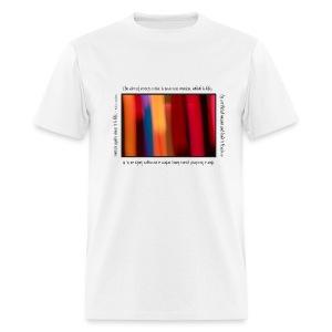 Painted Light T-shirt - Faulkner - Men's T-Shirt
