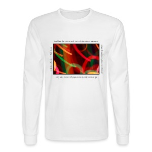 Painted Light Long Sleeve Tee - Picasso - Men's Long Sleeve T-Shirt