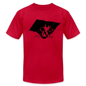 Men's Fine Jersey T-Shirt - Ceiling cat on a classic t-shirt.