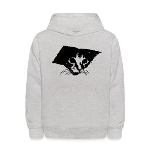 Kids' Hoodie - Ceiling Cat on a kid's hoodie. Awesome.