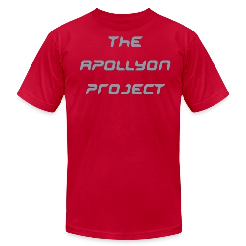 The Apollyon Project ''BRANDED'' Shirt (RED) - Men's Fine Jersey T-Shirt