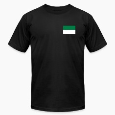 Black green white irish T-Shirts