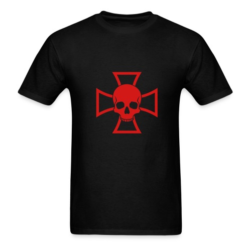 Audiobox-skull - Men's T-Shirt