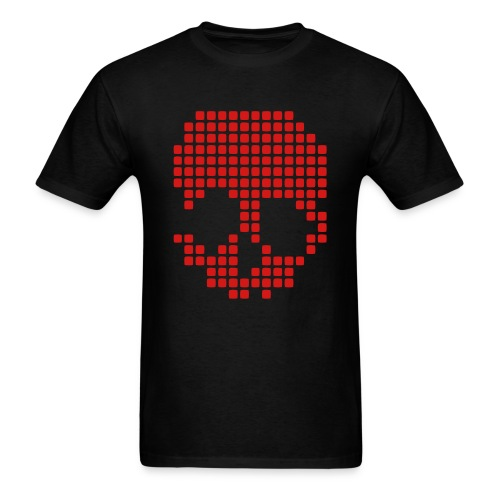 skull audio box  - Men's T-Shirt