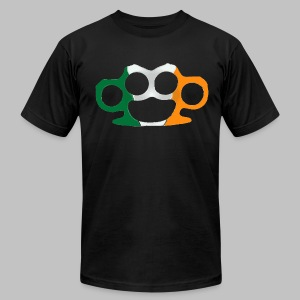 Irish Pride Knuckles - Men's T-Shirt by American Apparel
