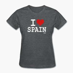 Deep heather i love spain Women's T-shirts