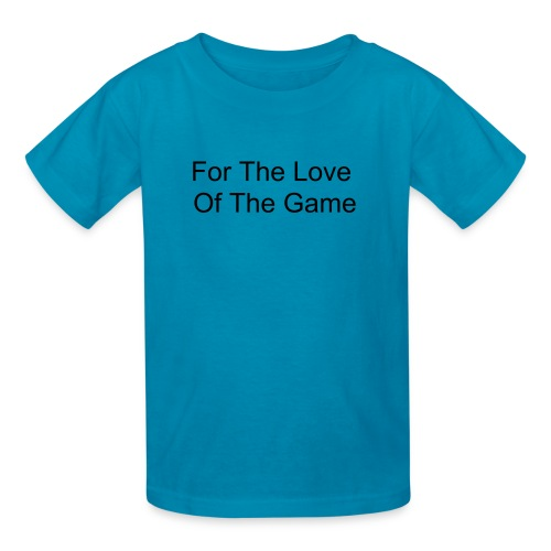 Love Of The Game (Color Selection) - Kids' T-Shirt