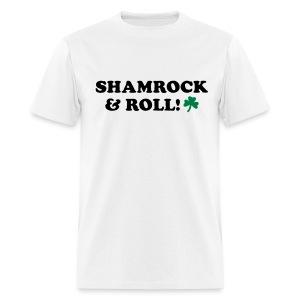 SHAMROCK ROLLER - Men's T-Shirt