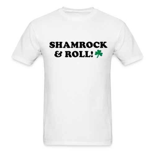 SHAMROCK ROLLER - Men's T-Shirt