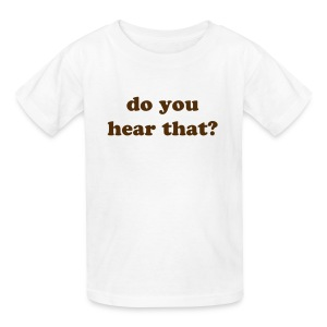 ask me - Kids' T-Shirt