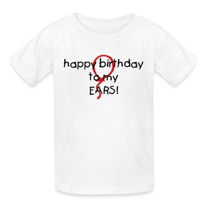 hearing birthday! - Kids' T-Shirt