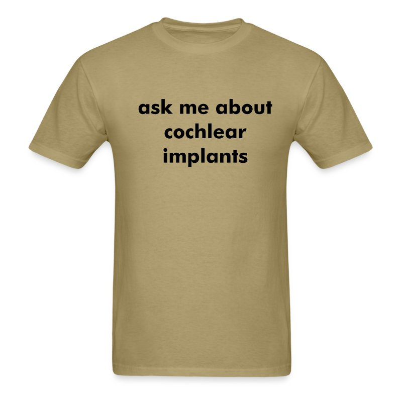 ask me about ci - Men's T-Shirt