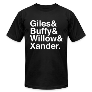 Buffy Version 3 - Men's T-Shirt by American Apparel