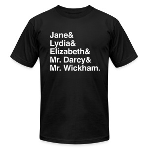 Pride and Prejudice - Men's T-Shirt by American Apparel