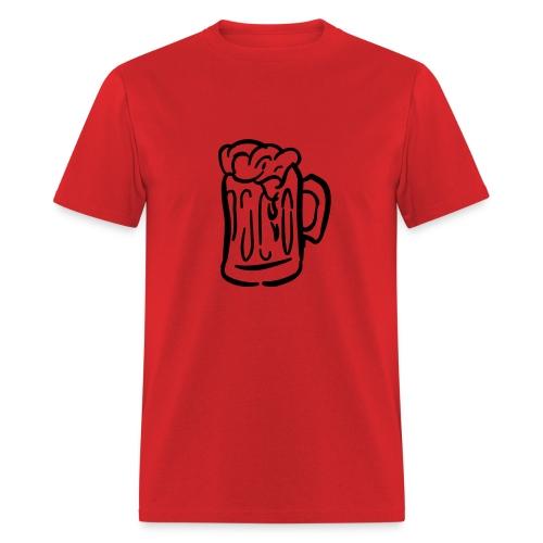 Beer mug - Men's T-Shirt