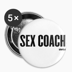 White sex coach by wam Buttons