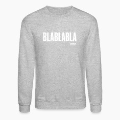 Heather grey blablabla by wam Long sleeve shirts