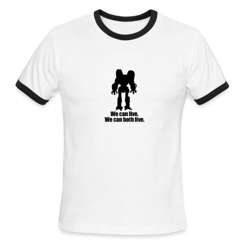 can live - Men's Ringer T-Shirt