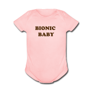 Baby Bodysuits ~ Baby Short Sleeve One Piece ~ Bionic baby