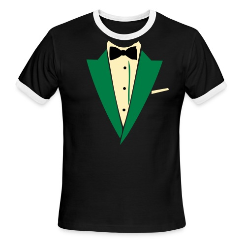 tux - Men's Ringer T-Shirt
