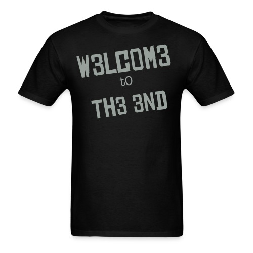 Welcome to the end - T B - Men's T-Shirt