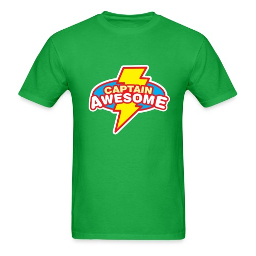 Captain Awesome Shirt - Men's T-Shirt