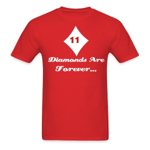KAPsi: Diamonds Are Forever Shirt - Men's T-Shirt