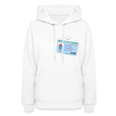 White Team Zissou ID Hooded Sweatshirts