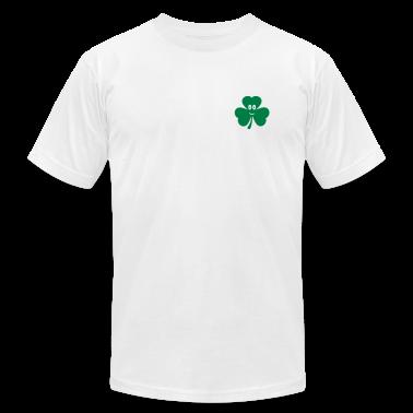 White Shamrock T-Shirts