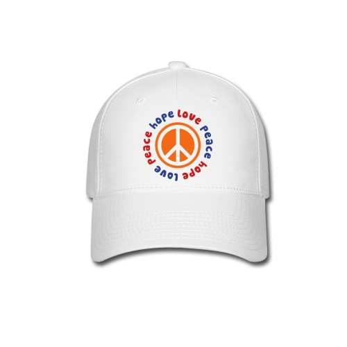 Peace Hope Love - Baseball Cap