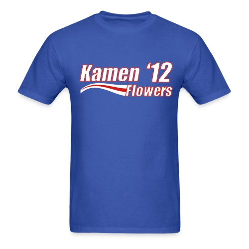 KAMEN FLOWERS '12 - ROYAL BLUE - Men's T-Shirt
