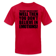 T-Shirts ~ Men's T-Shirt by American Apparel ~ Emotions t-shirt