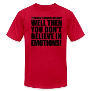 Emotions t-shirt - Men's T-Shirt by American Apparel
