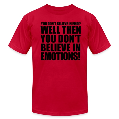 Emotions t-shirt - Men's Fine Jersey T-Shirt