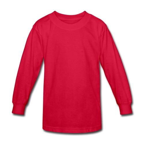I LOVE THE FLOWERS - Kids' Long Sleeve T-Shirt