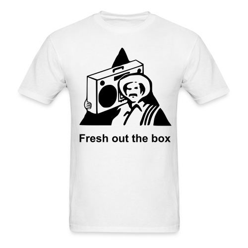 Fresh out the box - Men's T-Shirt