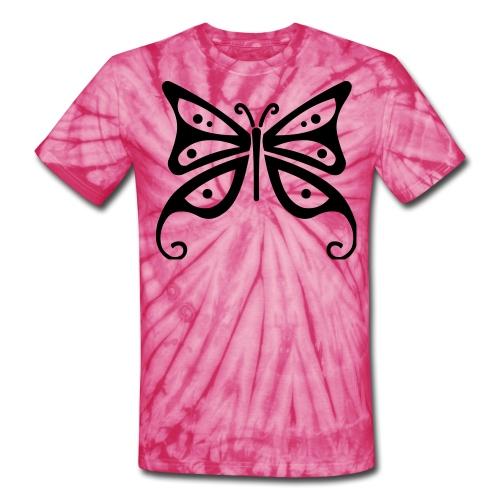 Butterfly Tee - Unisex Tie Dye T-Shirt